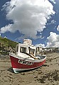 'Low tide at Port Isaac, Cornwall - No 2' - click here to see an enlargement of this landscape photograph